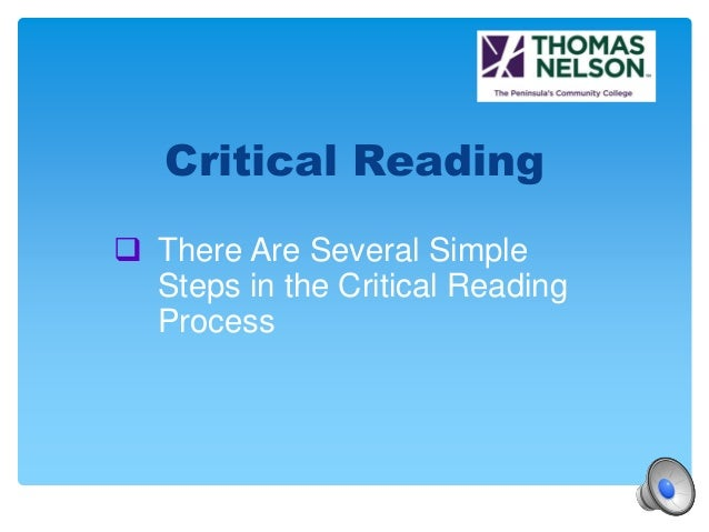 ... Write A Summary, You Must Critically Read The Article; 3.