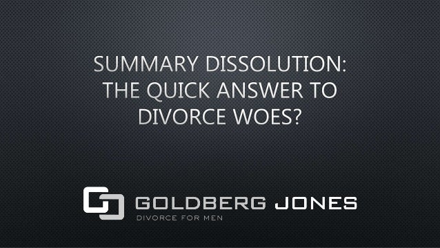 Most people think of divorce as a long contentious process. The image of a husband and wife bickering back and forth, argu...