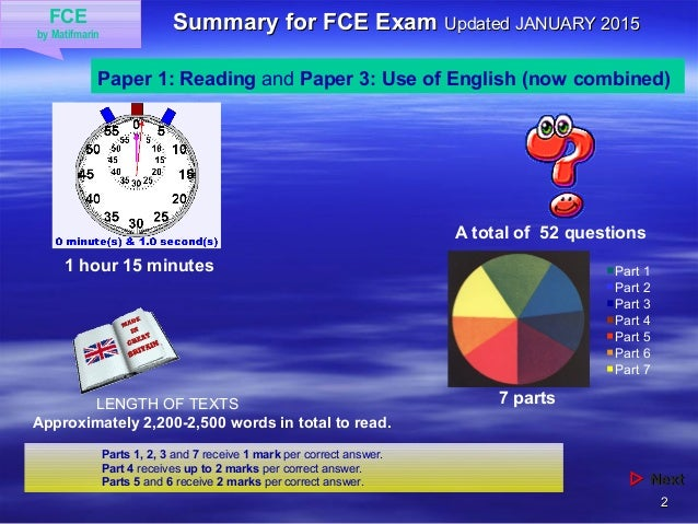 FCE - Information Slide 2