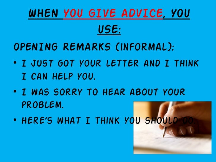 Letter writing givingasking for advice letters of complaint spiritdancerdesigns Choice Image