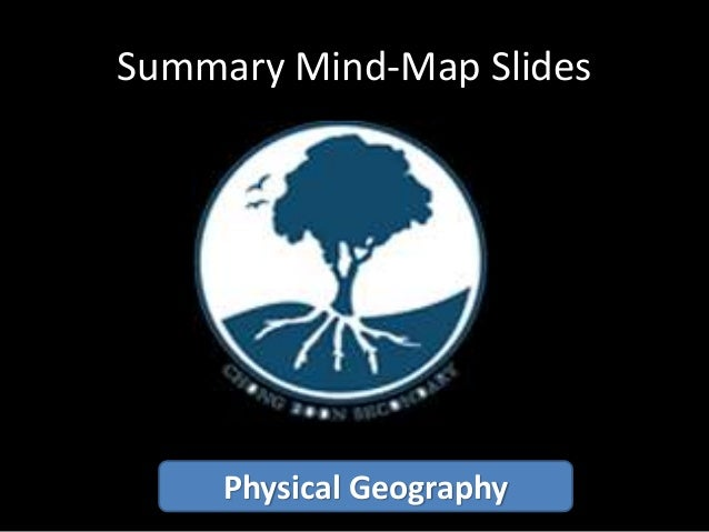 Summary Mind-Map Slides Physical Geography