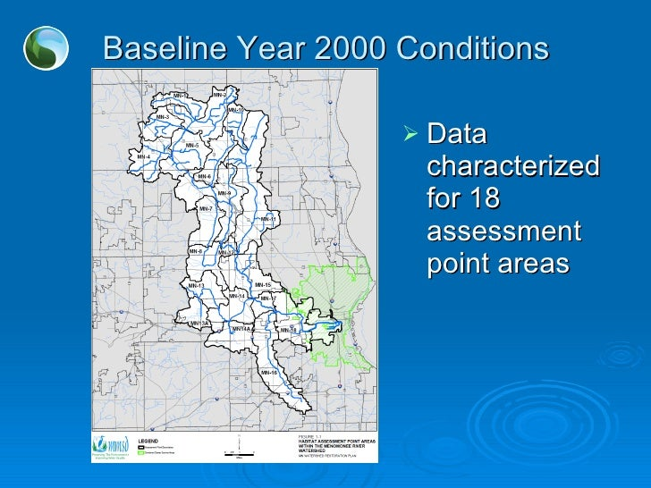 Baseline Year 2000 Conditions <ul><li>Data characterized for 18 assessment point areas </li></ul>
