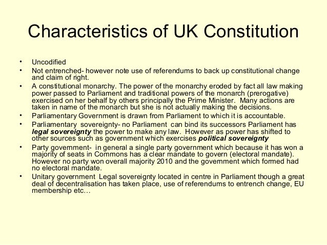 constitution of uk Pdf generated: 16 may 2018, 18:35 texts collected from legislationgovuk this complete constitution has been generated from excerpts of texts from the repository of the.