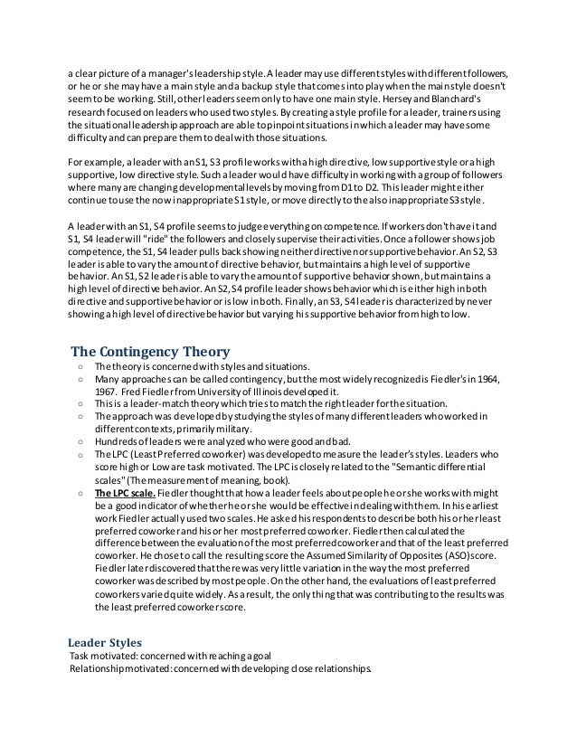 summary of management theories Theory in strategic management richard a bettis,1 alfonso gambardella,2 constance helfat,3 and will mitchell4,5 1 strategy and entrepreneurship department.