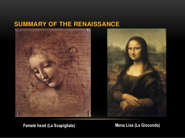 An overview of the renaissance