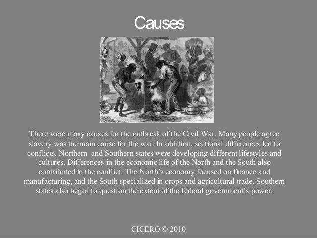 summary of the civilwar