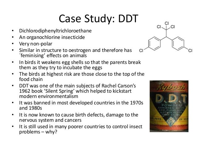 DDT and Sucralose: A Case Study in Chemophobia ...