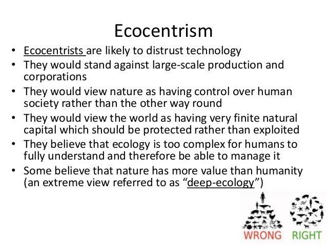 Technocentrism definition
