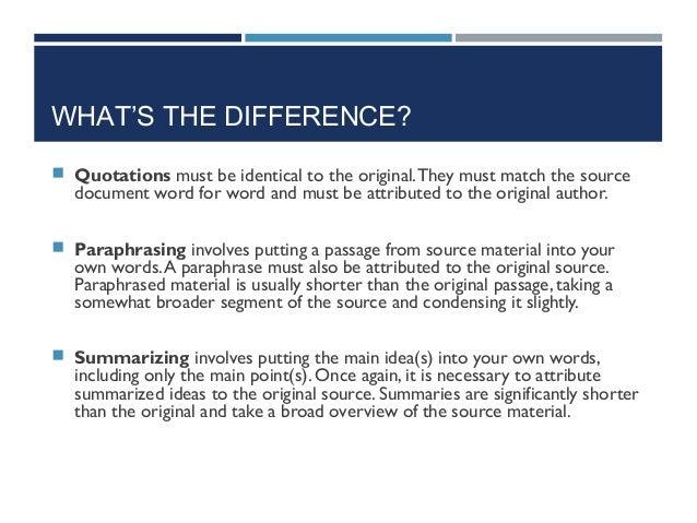 English paraphrasing pdf