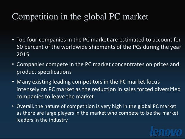 lenovo generic strategy The fact that numbers are pretty generic and the same number may be used on many for lenovo to go global —a case study of lenovo group strategies i.