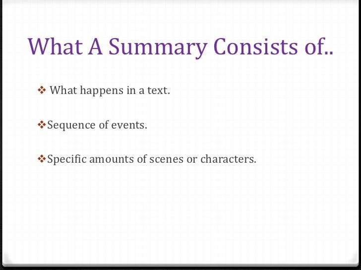summary analysis essay examples