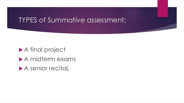formative and summative evaluation pdf