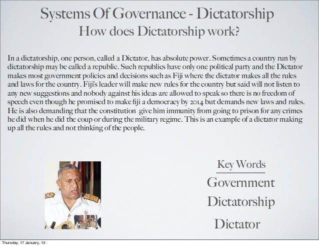 Dictatorship Project ( Trevor )