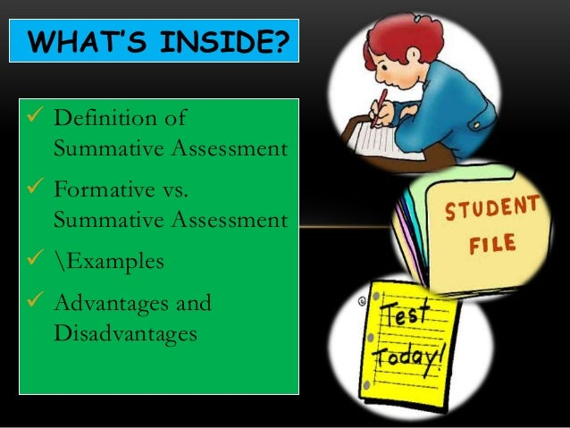 disadvantages of coursework assessment How are the documentation of institutional assessment and student learning assessment related course-embedded assessments of student learning, such as tests.