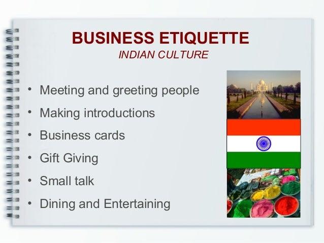 Communication etiquette business etiquette indian culture meeting m4hsunfo Gallery