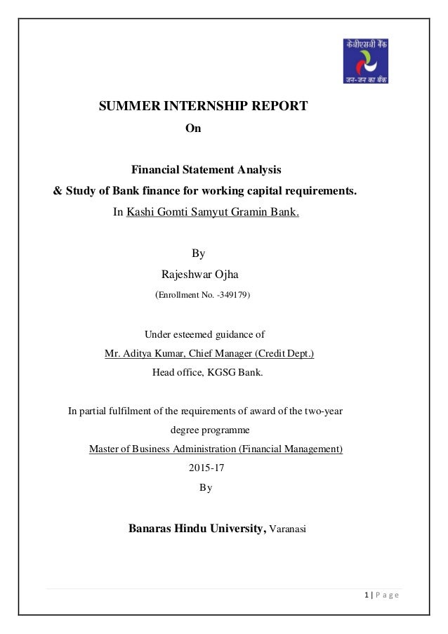 financial statement analysis of private bank Board of governors of the federal reserve system research & analysis the federal reserve bank financial statements also include the accounts and results.