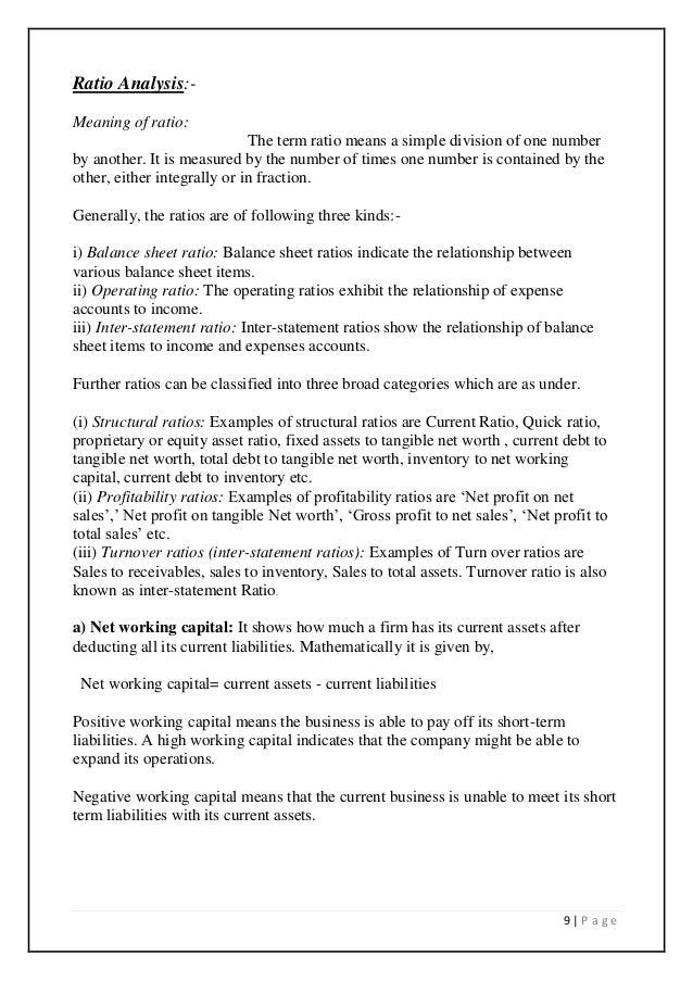 financial statement analysis for banks pdf