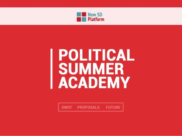 "POLITICAL SUMMER ACADEMY  H SWUT PR@l1""fL1EEfl; LE FLJTHJEE"