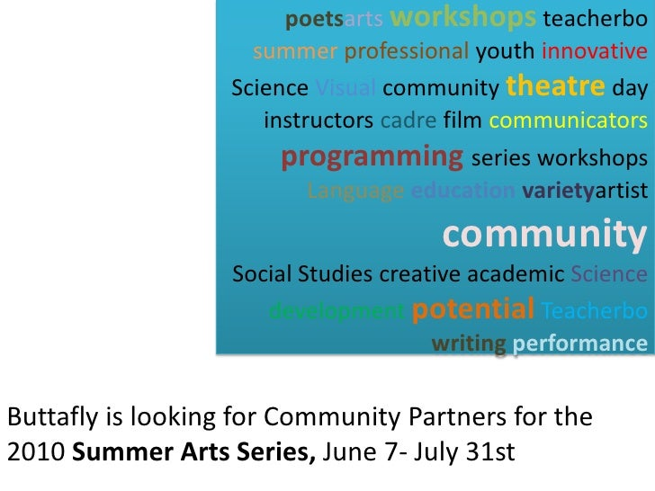 poetsartsworkshopsteacherbosummer professional youth innovative Science Visual community theatre day instructors cadre fil...