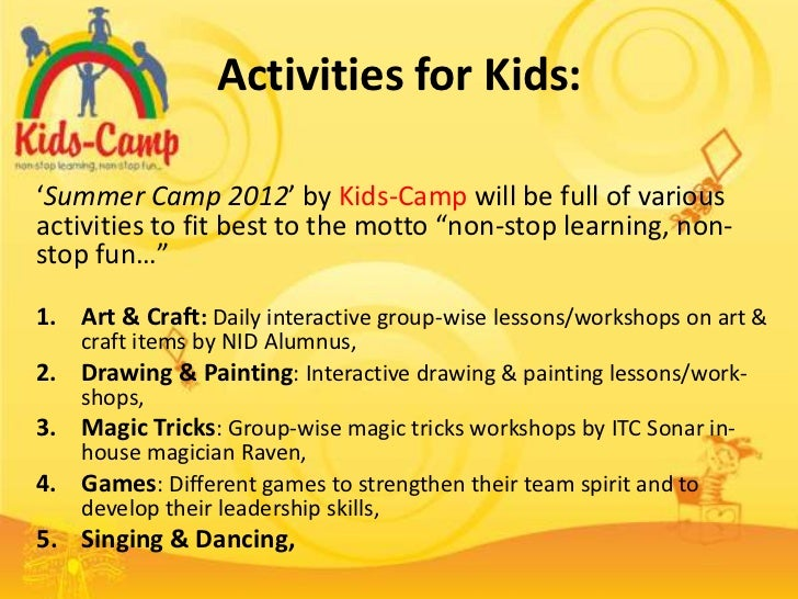 Arts And Crafts Ideas For Kids Summer Camp Part - 46: Summer Camp 2012