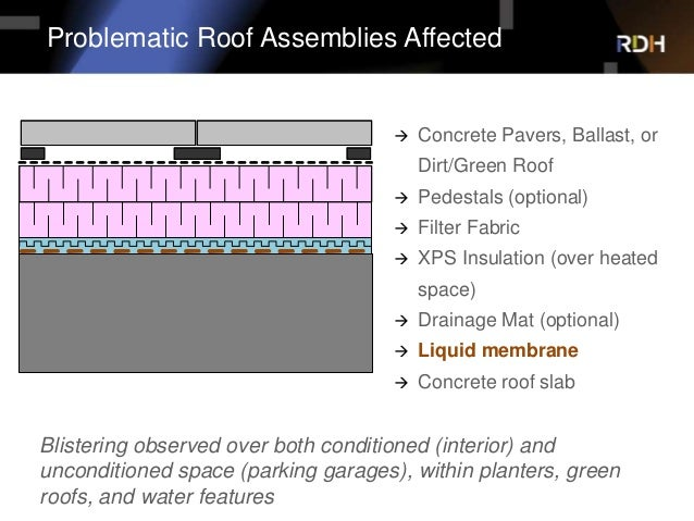 Osmosis The Bane Of Liquid Applied Waterproofing Membranes