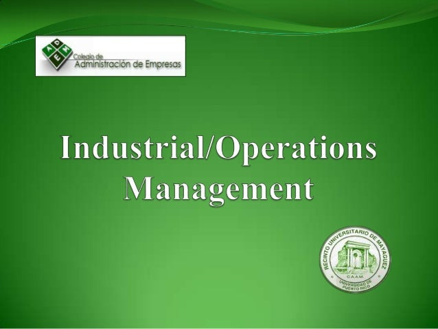 What Is Operations Management? Set of activities that creates value in the form of goodsand services by transforming inpu...