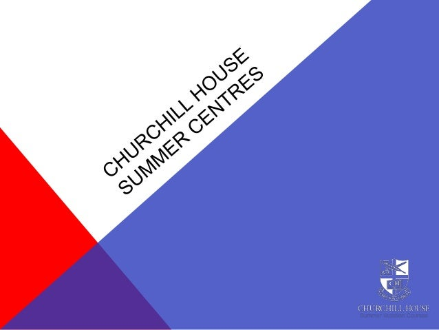 ABOUT CHURCHILL HOUSE  Established in 1971 – We have over 40 years experience with the individual care and attention prov...