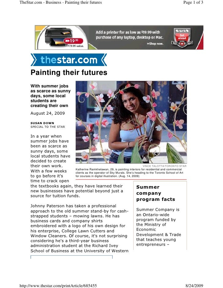 TheStar.com - Business - Painting their futures                                                            Page 1 of 3    ...