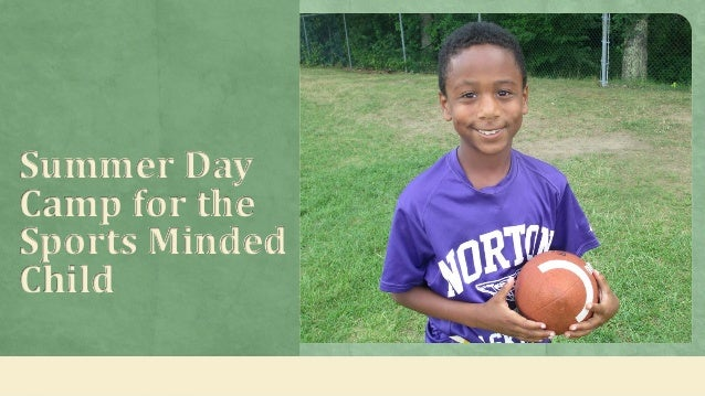 Summer Day Camp for the Sports Minded Child