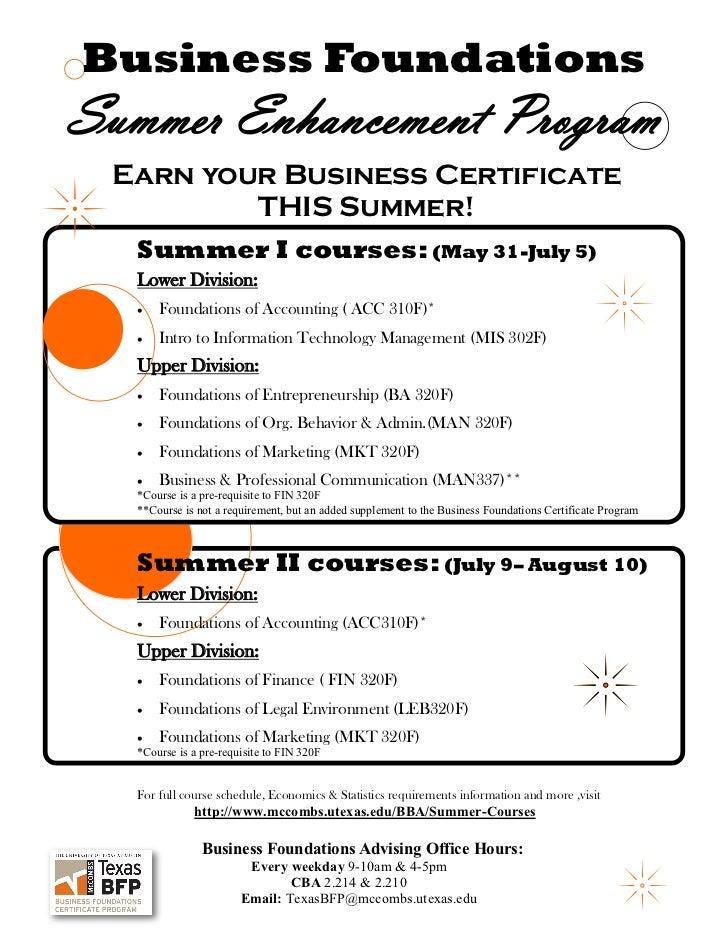 BFP Summer enhancement program ads