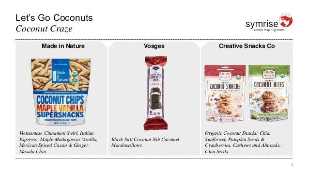 Let's Go Coconuts 3 Coconut Craze Made in Nature Vietnamese Cinnamon Swirl, Italian Espresso, Maple Madagascar Vanilla, Me...