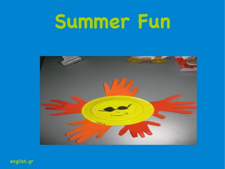 Summer Fun english.gr