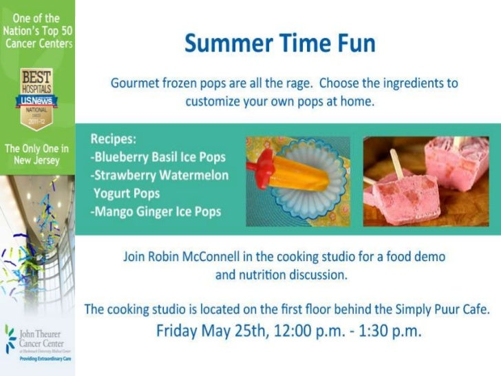 Summer Fun Recipes