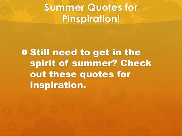 22 Ideas For Summer Fun From Pinterest