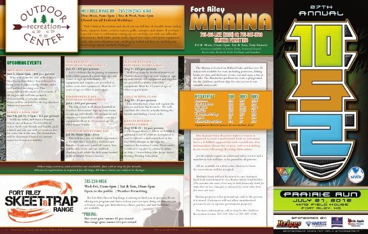 Fort Riley Summer MWR Guide 2012 Slide 3