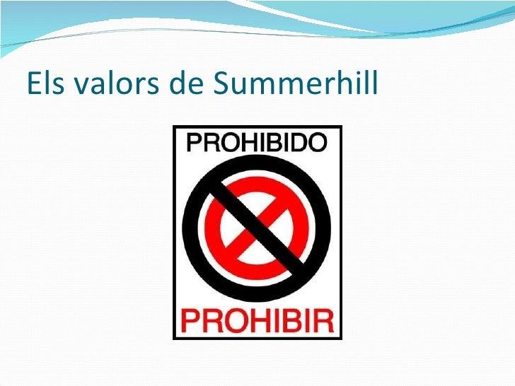 Els valors de Summerhill