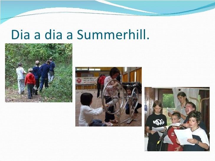Dia a dia a Summerhill.