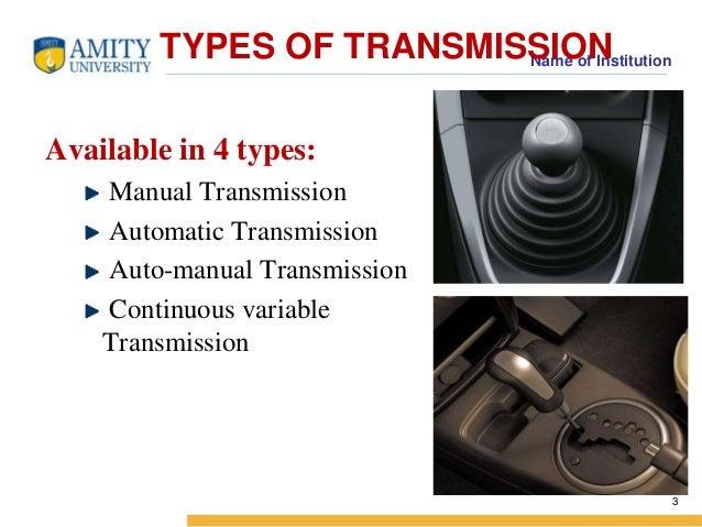 transmission in maruti cars rh slideshare net e46 manual transmission types bmw manual transmission types