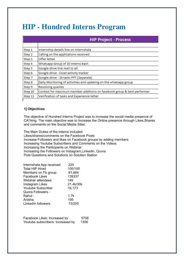 Summer internship - Report