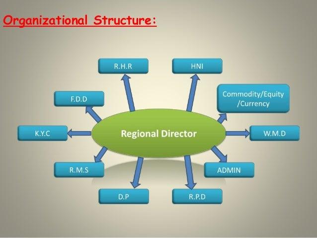 Organizational Structure:
