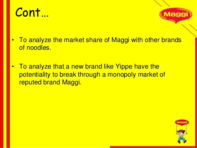comparative study of noodles brand in india Due to fast cooking properties, instant noodles today have occupied an important  position in almost every indian kitchen since most of the.