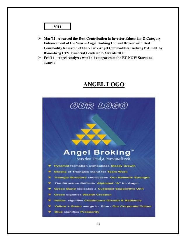 Summer internship project on angel broking