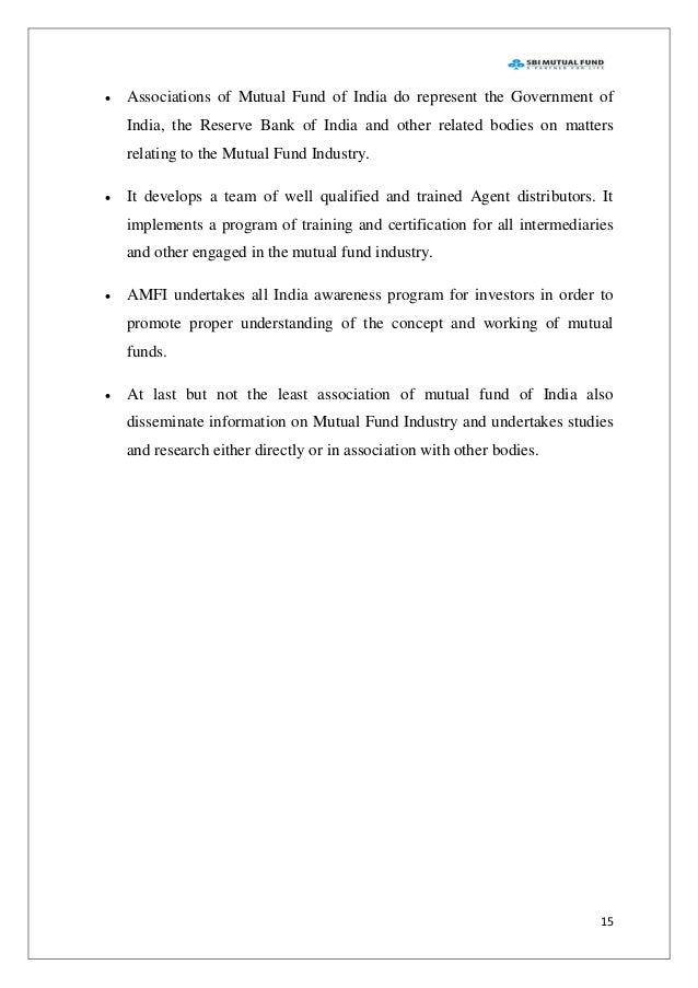 amfi code of ethics Sebi c amfi d distribution agents based on demand for the fund 3  the code  of ethics for mutual funds published by amfi a is mandatory b is in the form of.