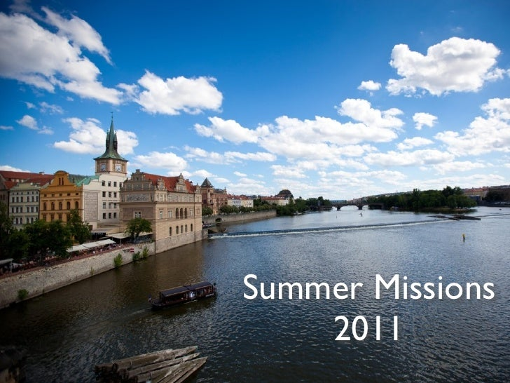 Summer Missions    2011