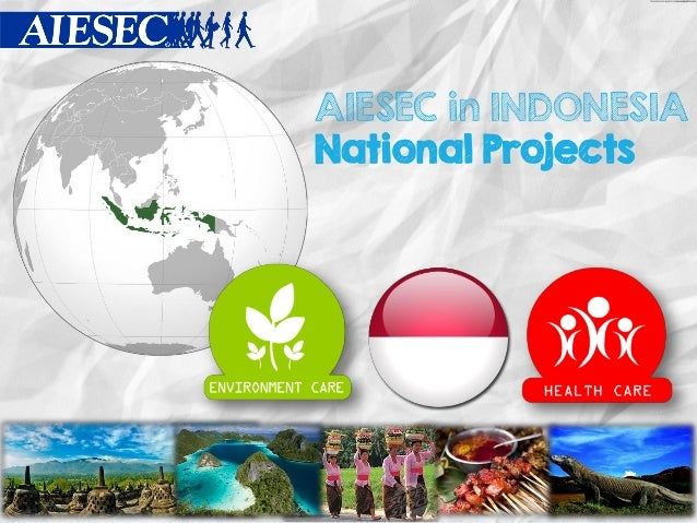AIESEC in INDONESIA National Projects