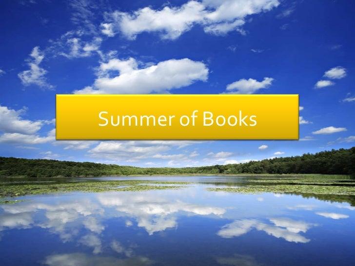 Summer of Books