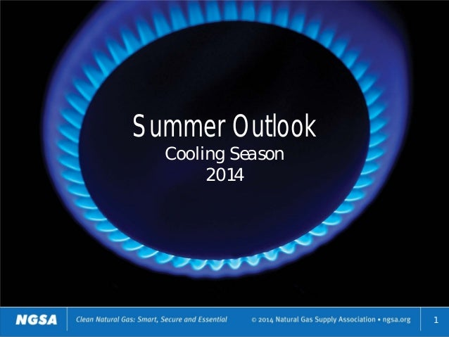 Summer Outlook Cooling Season 2014 1