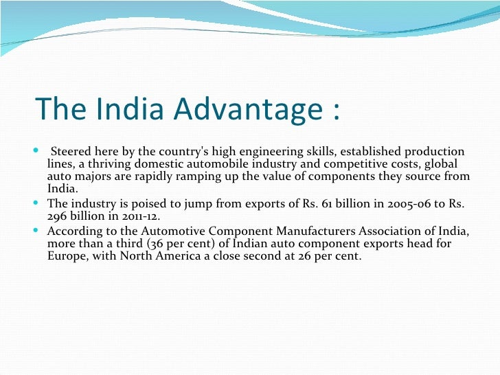 swot analysis north country auto An expert analysis of the indian pharmaceuticals industry, incl the government's.