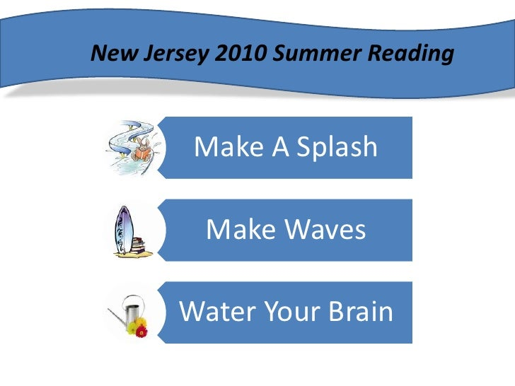 New Jersey 2010 Summer Reading<br />