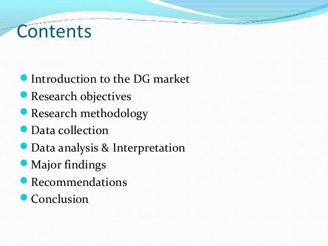 Dissertation analysis of data